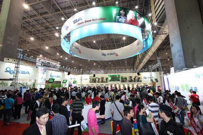 高宝PrintChina2011展位