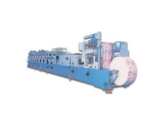 太阳机械 TOF型商用轮转印刷机